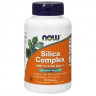 Silica Complex 90 Tablets - Now Foods / Μαλλιά, Νύχια, Δέρμα