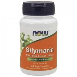 Silymarin (Milk Thistle) 150mg - 60vaps NOW Foods / Γάλα Γαϊδουράγκαθου - Συκώτι