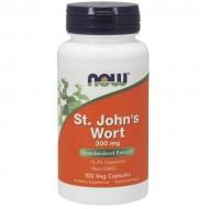 St. John's Wort 300mg 100 φυτικές κάψουλες - Now / Βοτανοθεραπεία