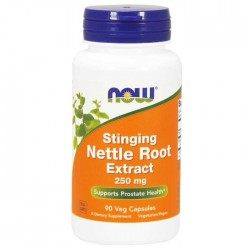 Stinging Nettle Root Extract, 250mg 90 vcaps  - Now Foods / Υγεία Προστάτη