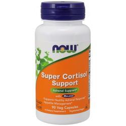 Super Cortisol Support 90 φυτοκάψουλες - Now / Ειδικά Συμπληρώματα