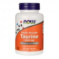 Taurine 1000 mg - 100 vcaps NOW Foods / Αμινοξέα