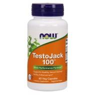 Testojack 100 60 Φυτοκάψουλες - Now / Ανδρική Σεξουαλική Υγεία
