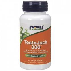 TestoJack 300 60 Φυτοκάψουλες - Now Foods / Ανδρική Σεξουαλική Υγεία