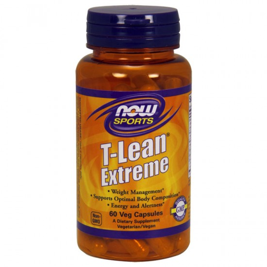 T-Lean Extreme 60 φυτοκάψουλες - Now / Αδυνάτισμα