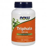 Triphala 500mg 120 tablets - Now Foods