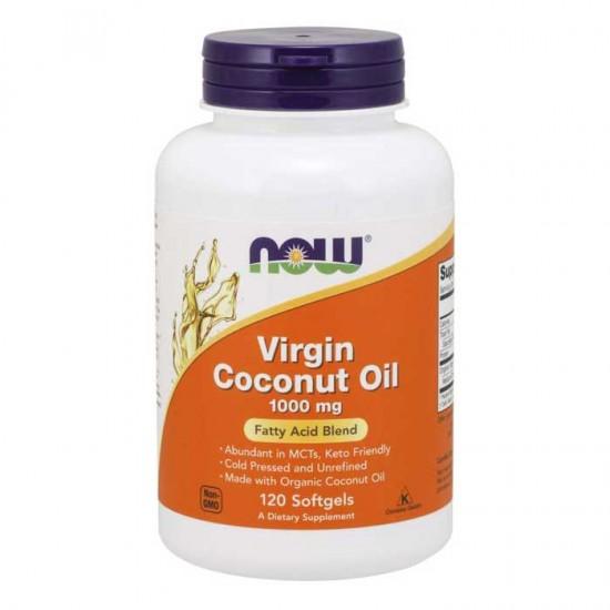 Virgin Coconut Oil 1000 mg 120 Softgels - Now Foods