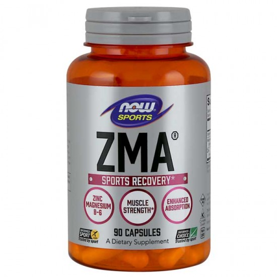 ZMA Sports Recovery 90 κάψουλες - Now  / Ειδικά Συμπληρώματα