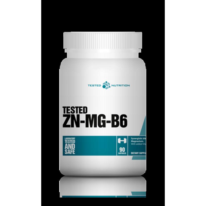 Μέταλλα - Μαγνήσιο - ZnMg Tested Nutrition 90 κάψουλες
