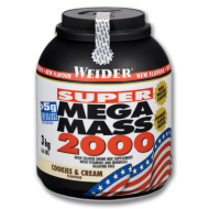 Mega Mass 2000 Weider  3 kg - Πρωτεΐνη Όγκου