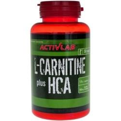 L-Carnitine HCA Plus 50 ταμπλέτες - Activlab / Λιποδιαλύτης Καρνιτίνη