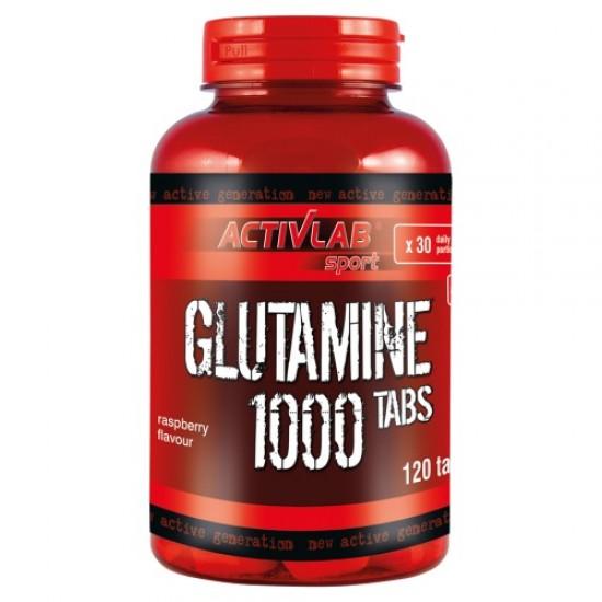 Glutamine 1000 120 ταμπλέτες - Activlab / Γλουταμίνη