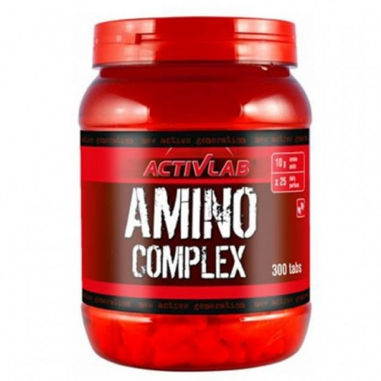 Amino Complex 300 ταμπλέτες - Activlab / Αμινοξέα Χάπια