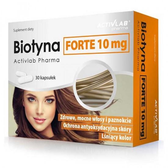 Biotin Forte 10mg 30caps - ActivLab