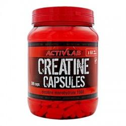 Creatine Capsules Monohydrate 1000 300 κάψουλες - Activlab / Κρεατίνη