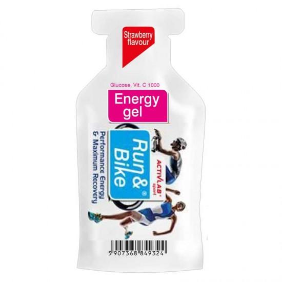 Run & Bike Energy Gel 40γρ - Activlab
