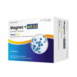 Magnesium (Magnez) with B6 50 caps - Activlab Pharma