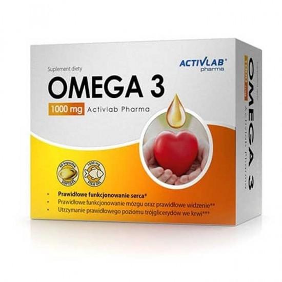 Omega 3 1000mg 60 caps - ActivLab Pharma
