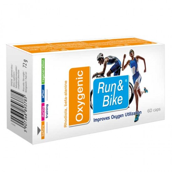 Run and Bike Oxygenic 60 caps - Activlab / Τρέξιμο - Ποδηλασία