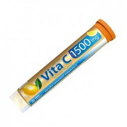 Vita C 1500 mg 20 αναβράζοντα δισκία Λεμόνι - Activlab