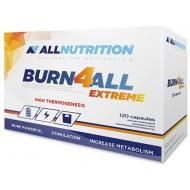Burn4ALL Extreme 120 κάψουλες - Allnutrition / Λιποδιαλύτης