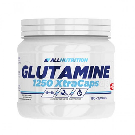 Glutamine 1250 Xtracaps 180Caps - AllNutrition