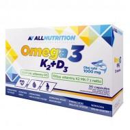 Omega3 + D3 + K2 30 caps - AllNutrition