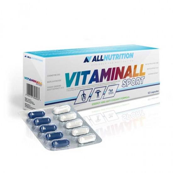 Vitaminall Sport 60 κάψουλες - AllNutrition