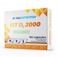 Vit D3 2000 60caps - Allnutrition