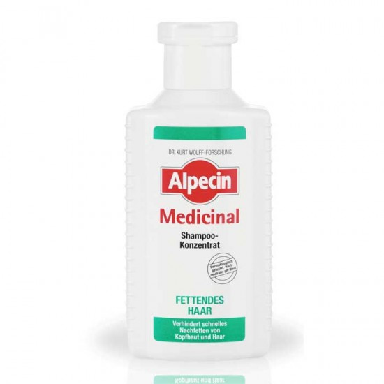 Alpecin Medicinal Concentrate Shampoo Oily Hair 200ml κατά της λιπαρότητας