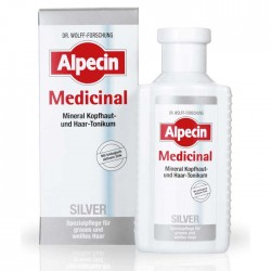 Alpecin Medicinal Silver Mineral Scalp & Hair Tonic 200ml