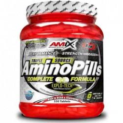 Amino Pills 330 Tabs - Amix / Χάπια Αμινοξέων