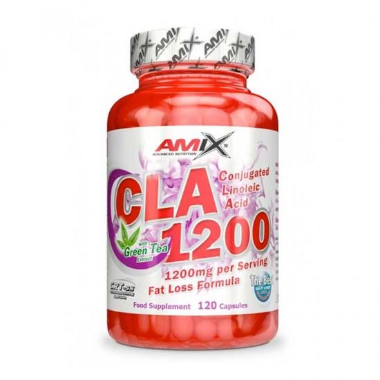 CLA 1200 & Green Tea 120 κάψουλες - Amix