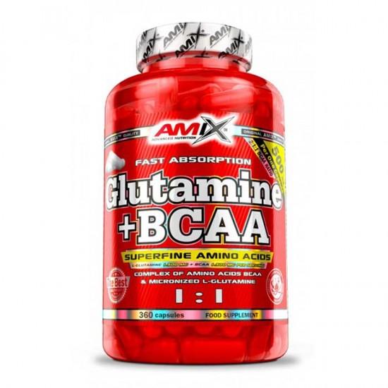 L-Glutamine BCAA 360 caps - Amix