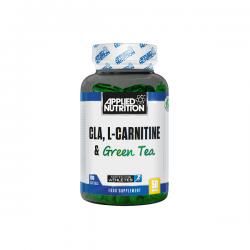Applied CLA + L-Carnitine + Green Tea 100 μαλακές κάψουλες Καρνιτίνη - Πράσινο Τσάι - Applied Nutrition / Λιποδιαλύτες