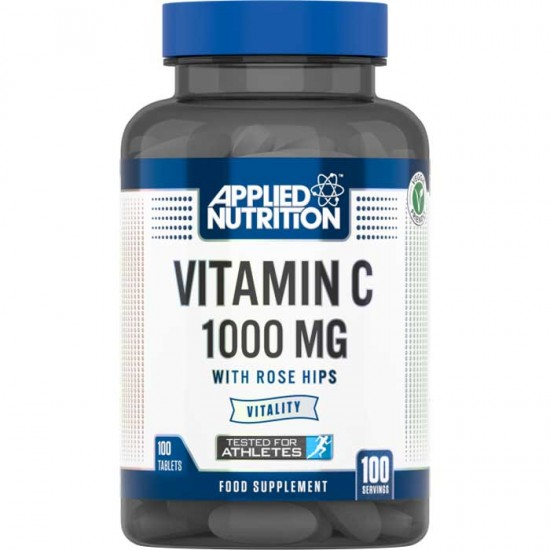 Vitamin C 1000mg with Rose Hips 100 Tabs - Applied Nutrition
