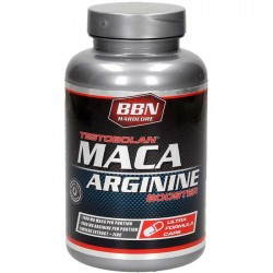 Testobolan Maca Arginine Booster 100caps - Best Body Nutrition