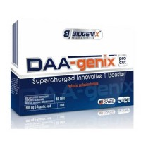 DAA-Genix  60 tabs - Biogenix / Ενίσχυση τεστοστερόνης