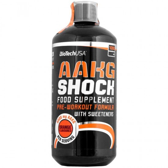 AAKG Shock Extreme 1000ml - BioTech USA