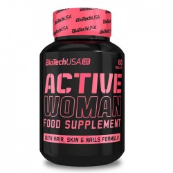 Active Woman 60 ταμπλέτες - BioTech USA