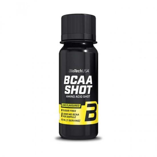 BCAA Shot 60ml Lime - Biotech USA