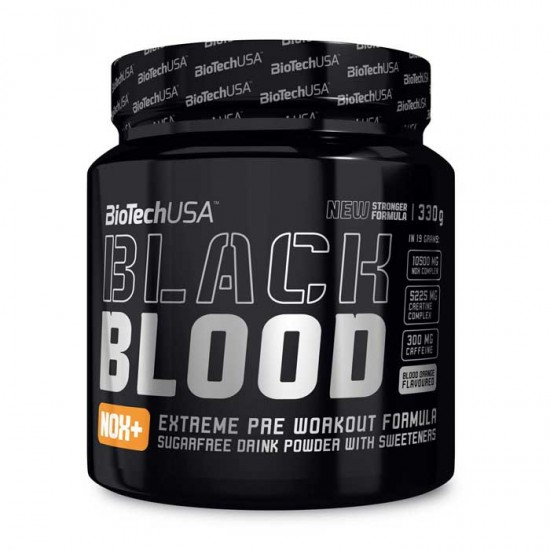 Black Blood CAF+ 300g - BioTech USA / Pre-workout