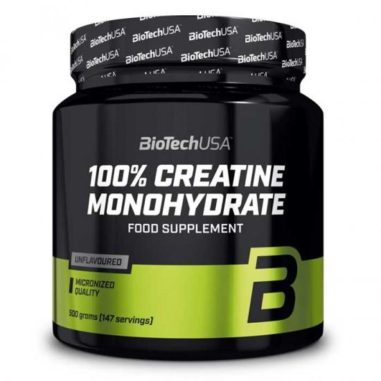 Creatine Monohydrate 500g - Biotech USA