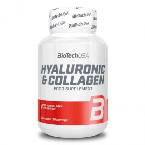 Hyaluronic & Collagen 30 caps - Biotech USA