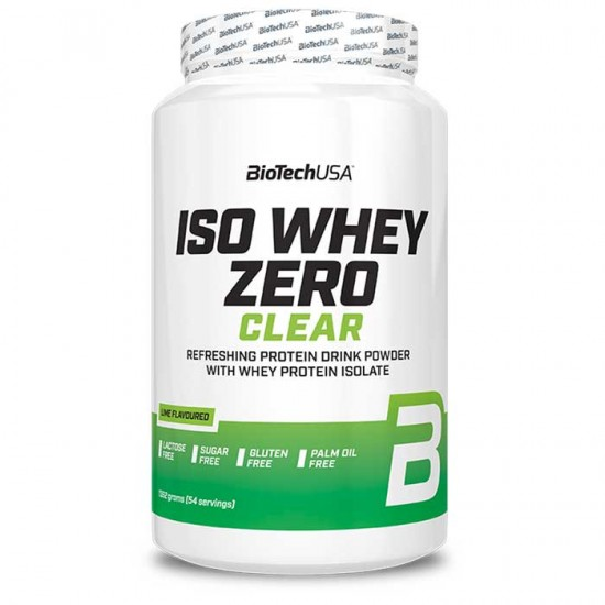 Iso Whey Zero Clear 1362g - Biotech USA