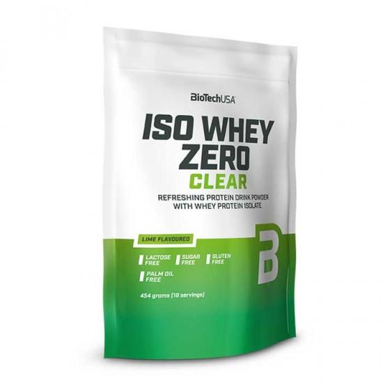 Iso Whey Zero Clear 454g - Biotech USA
