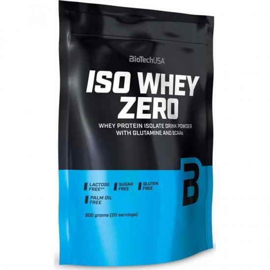 Iso Whey Zero Lactose Free 500gr - Biotech USA