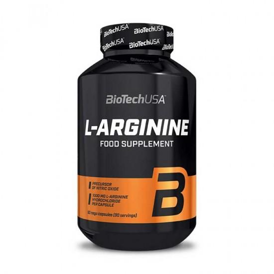 L-Arginine 90 Caps - Biotech USA