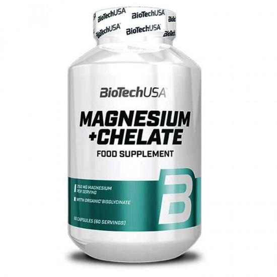 Magnesium Chelate 60 caps - Biotech USA
