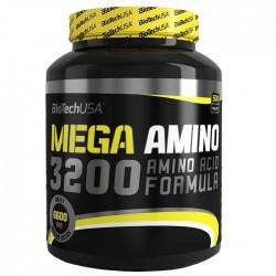 Mega Amino 3200 - 500 tabs - BioTech USA / Αμινοξέα
